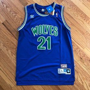 NWT Kevin Garnett Minnesota Timberwolves Jersey